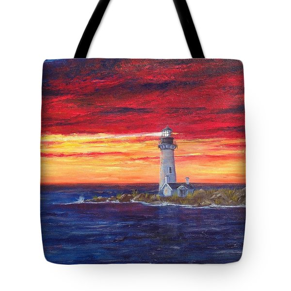 Marien's View Tote Bag by T Fry-Green