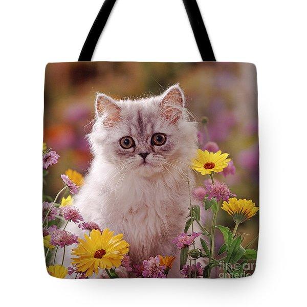 Marigold Chinchilla Tote Bag