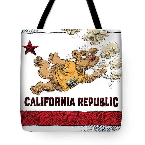 Marijuana Referendum In California Tote Bag