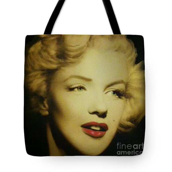 Tote Bag featuring the photograph Marilyn by Elizabeth Coats