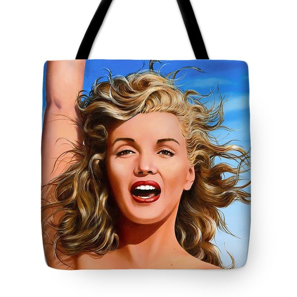 Marilyn Tote Bag by James Robertson