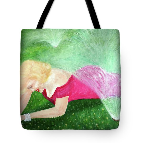 Marilyn Misted Tote Bag