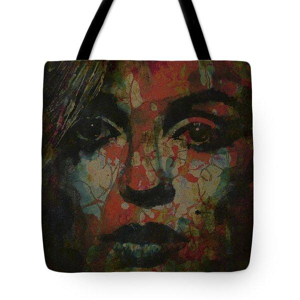 Marilyn Monroe @ I Need You Tote Bag