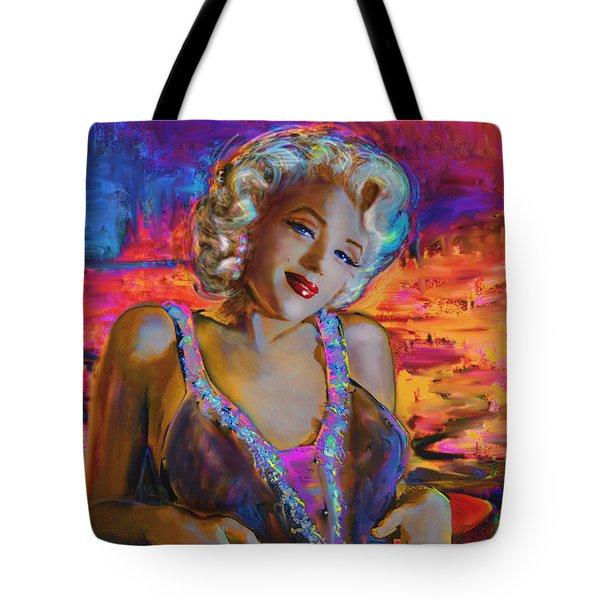 Marilyn Monroe 126 G Tote Bag