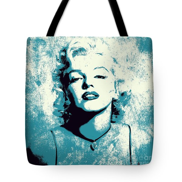 Marilyn Monroe - 201 Tote Bag by Variance Collections