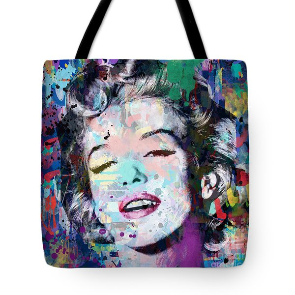 Marilyn Monroe  9 Tote Bag
