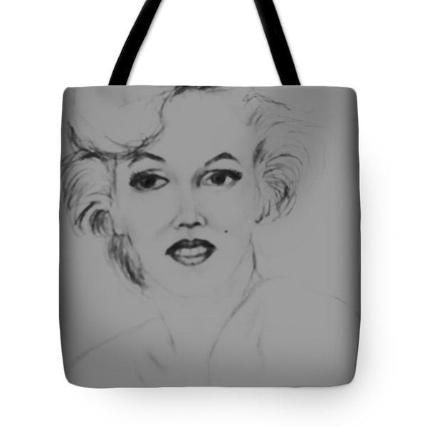 Marilyn Monroe Tote Bag by Edgar Torres