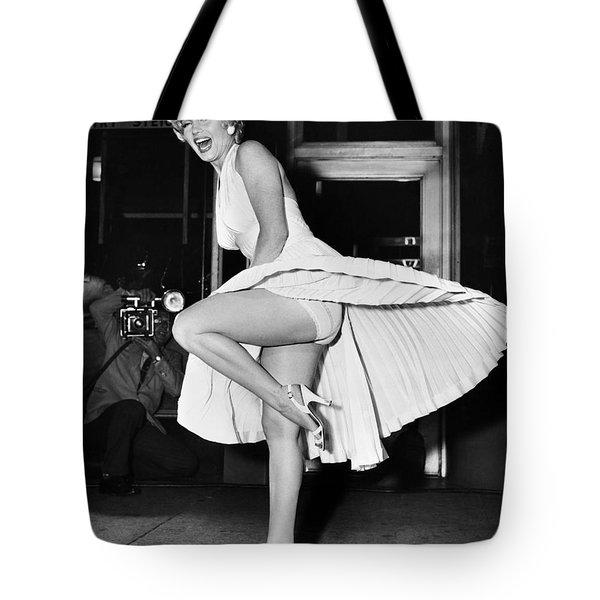 Marilyn Monroe Tote Bag by Granger