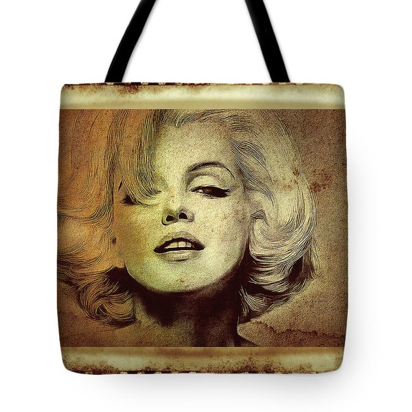 Marilyn Monroe Star Tote Bag