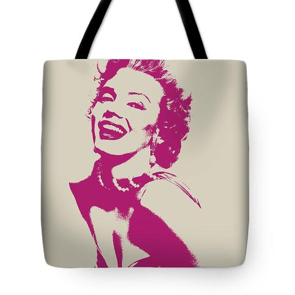 Marilyn Monroe Vector Pop Art Portrait Tote Bag