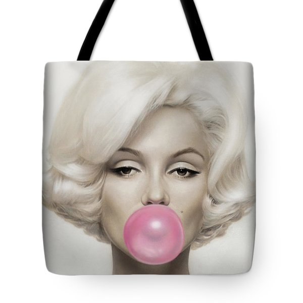 Marilyn Monroe Tote Bag by Vitor Costa