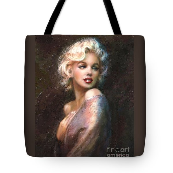 Marilyn Romantic Ww 1 Tote Bag