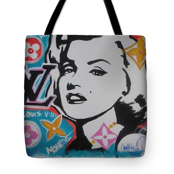 Marilyn Vuitton Tote Bag