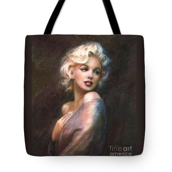 Marilyn Ww Classics Tote Bag by Theo Danella