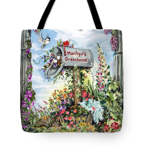 Marilyn's Greenhouse Tote Bag