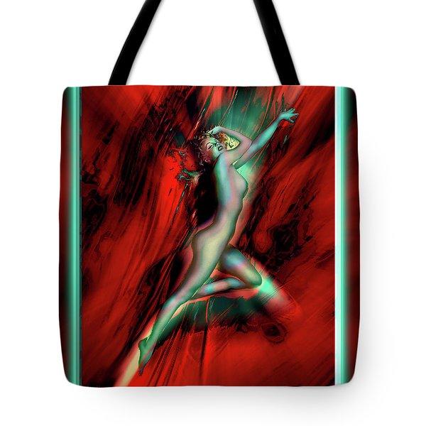 Marilyn's Rose Tote Bag