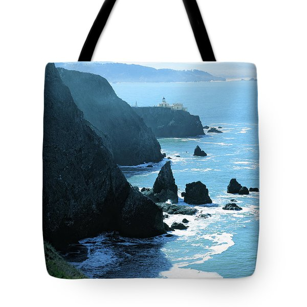Marin Coastline Tote Bag