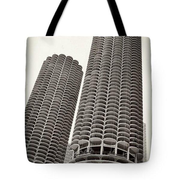 Marina City - Chicago Tote Bag