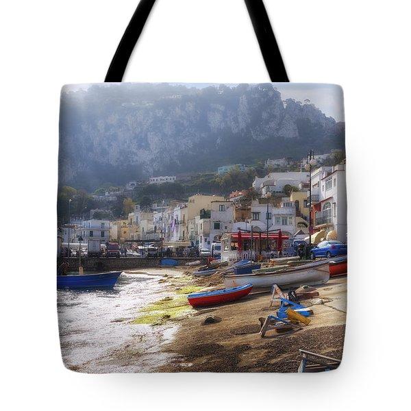 Marina Grande - Capri Tote Bag