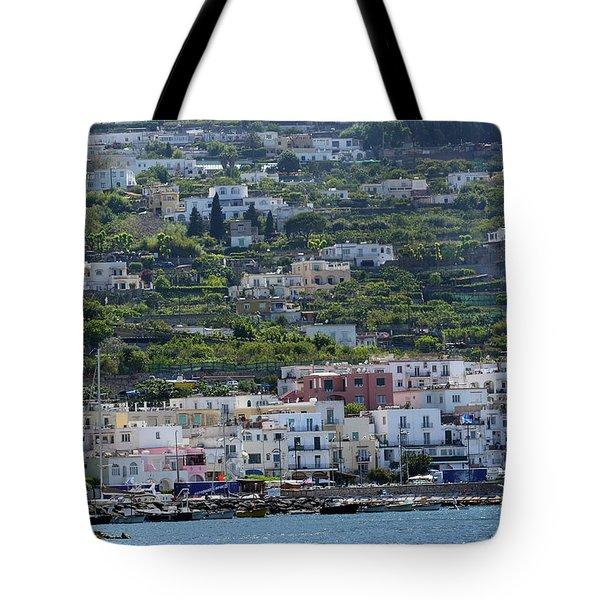 Marina Grande, Isle Of Capri Tote Bag
