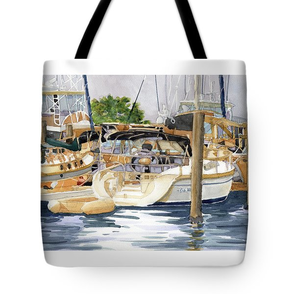 Marina Matrix Tote Bag