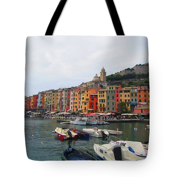 Marina Of Color Tote Bag by Christin Brodie