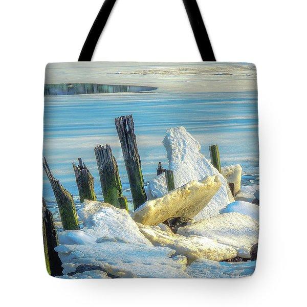 Marina On The Rocks Tote Bag