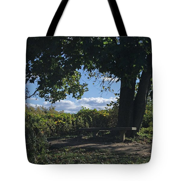 Marina Point Landing Tote Bag