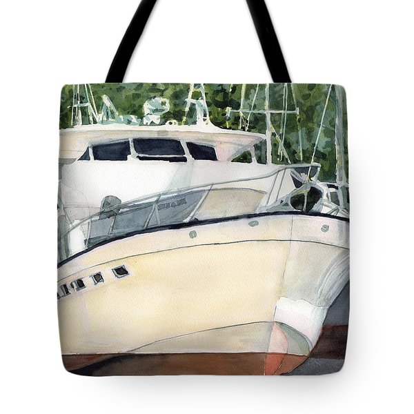 Marina Queen Tote Bag