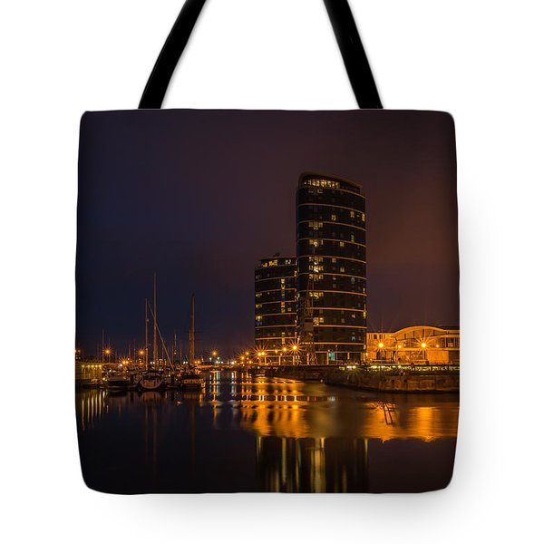 Tote Bag featuring the photograph Marina by Ryan Photography