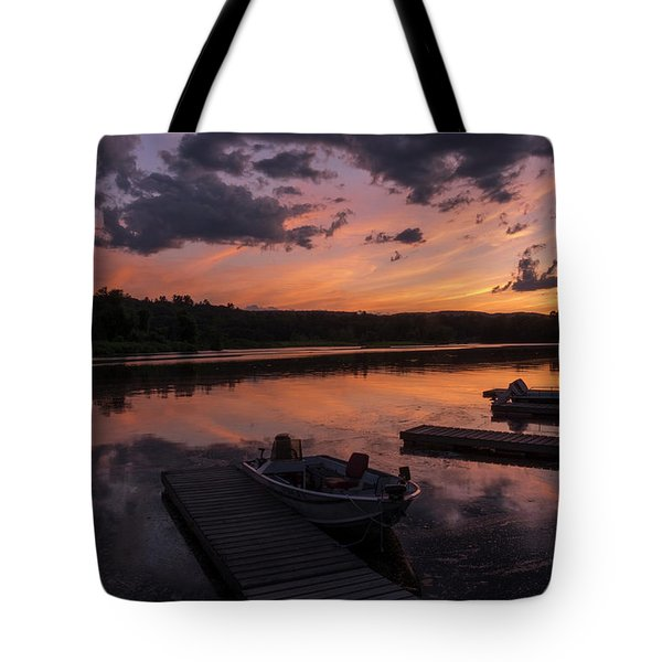 Marina Sunset IIi Tote Bag
