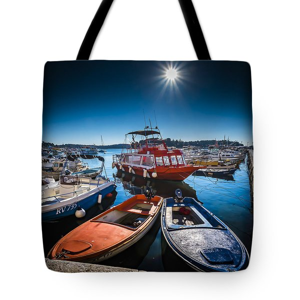 Marina Under The Sun Tote Bag