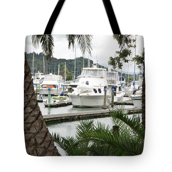 Marina View Tote Bag