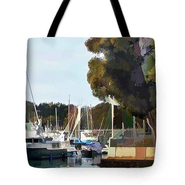 Marina Views Tote Bag