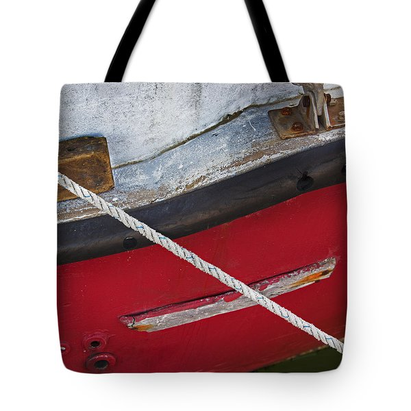Tote Bag featuring the photograph Marine Abstract by Charles Harden