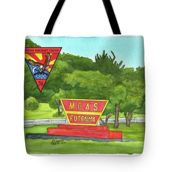 Marine Aircraft Group At Mcas Futenma Tote Bag