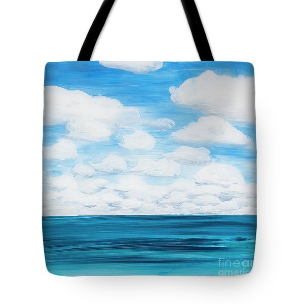 Marine Layer Breaking Up Tote Bag