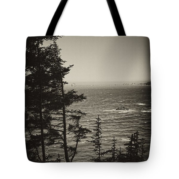 Tote Bag featuring the photograph Marine Pine by Hugh Smith