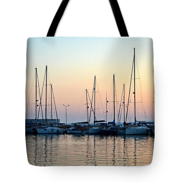 Marine Reflections Tote Bag