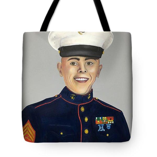 Marine Sergeant  Tote Bag