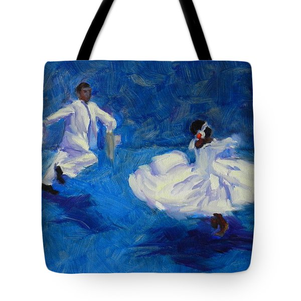 Marinera Nortenia Blue Tote Bag
