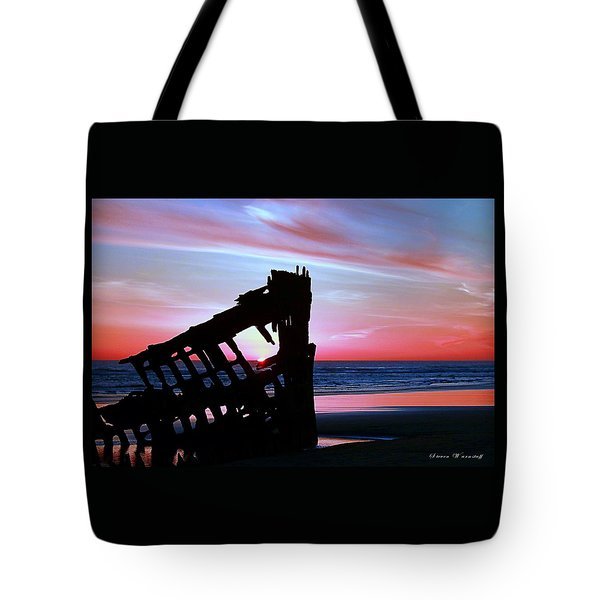 Mariners Sky 20 Tote Bag by Steve Warnstaff