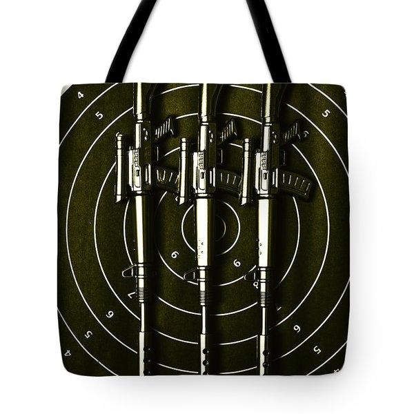 Marines And Militia Range Tote Bag