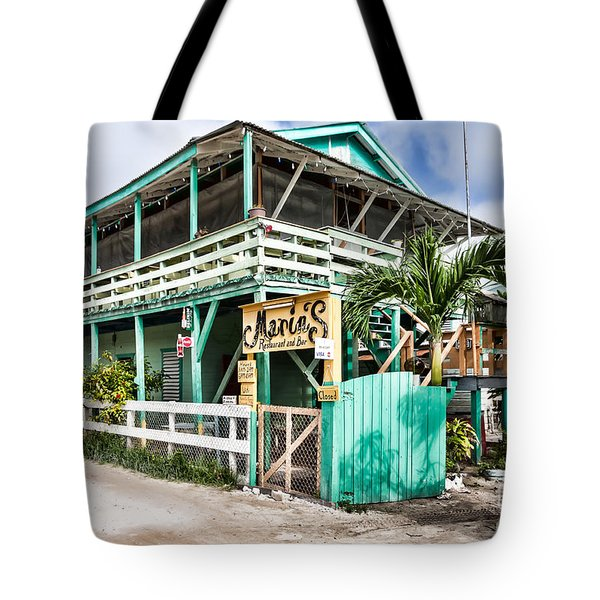 Marin's On Caye Caulker Tote Bag