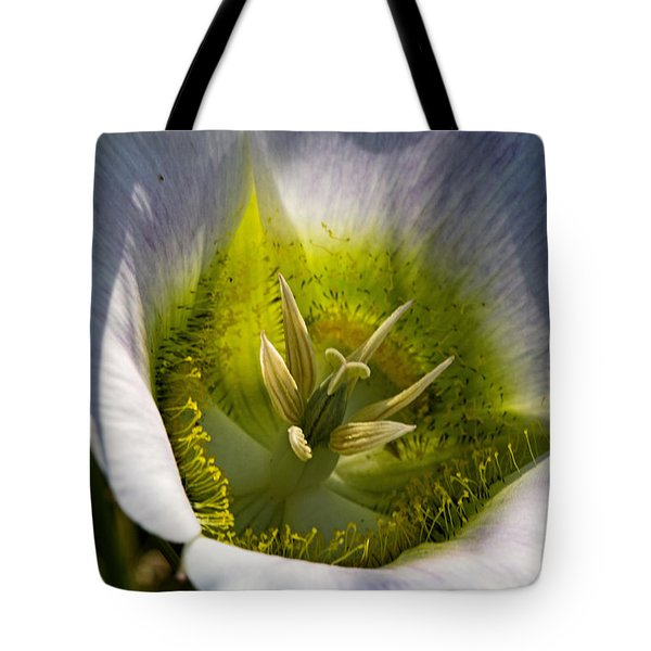 Mariposa Lily Tote Bag by Alana Thrower