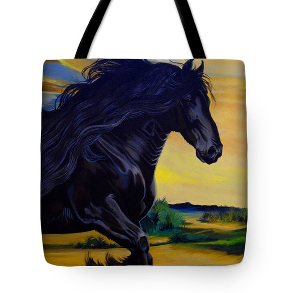 Friesian Paradise Tote Bag
