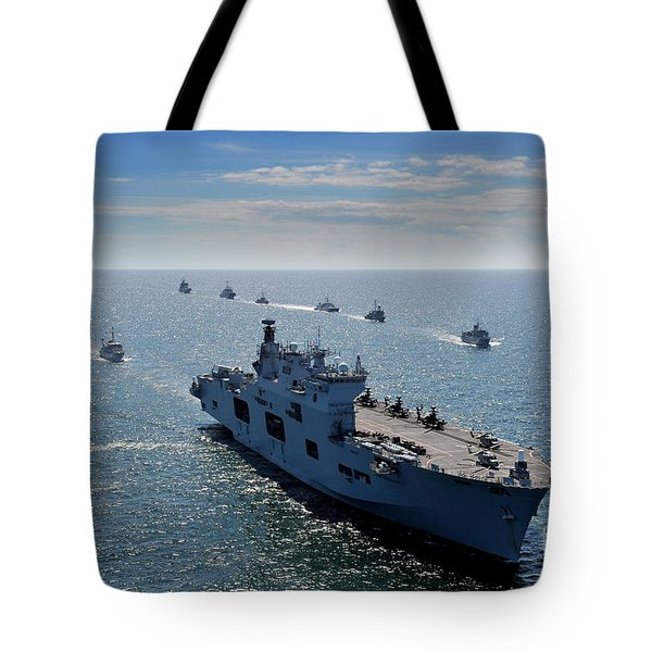 Maritime Forces From 17 Nations Tote Bag