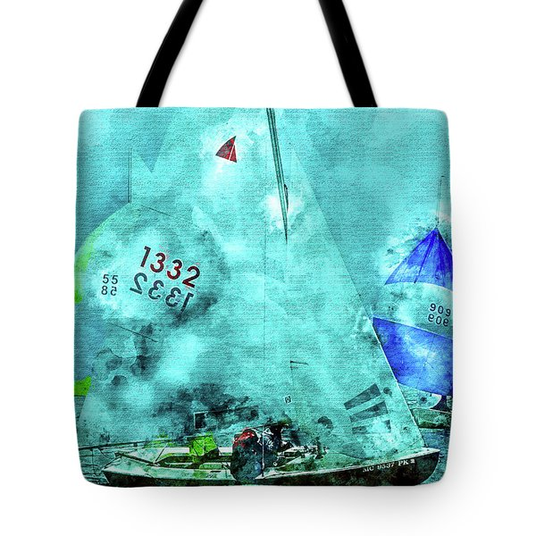 Maritime Number One Tote Bag