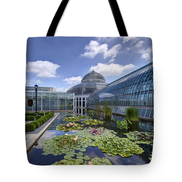 Marjorie Mcneely Conservatory At Como Park And Zoo Tote Bag