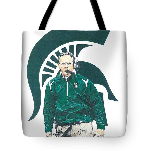 Mark Dantonio Tote Bag